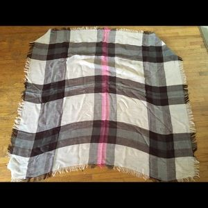 NWT Talbots Large Blanket Scarf